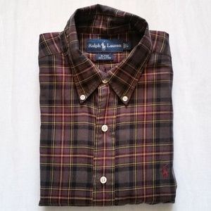 Ralph Lauren Blake 100% Cotton Button Down Shirt